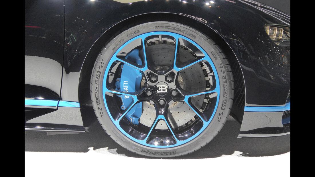 Bugatti Chiron - Felgen - IAA 2017