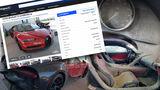 Bugatti Chiron Feuer Schaden Verkauf Gebrauchtwagen