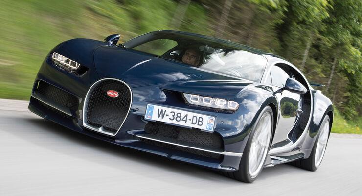 Bugatti Chiron, Frontansicht