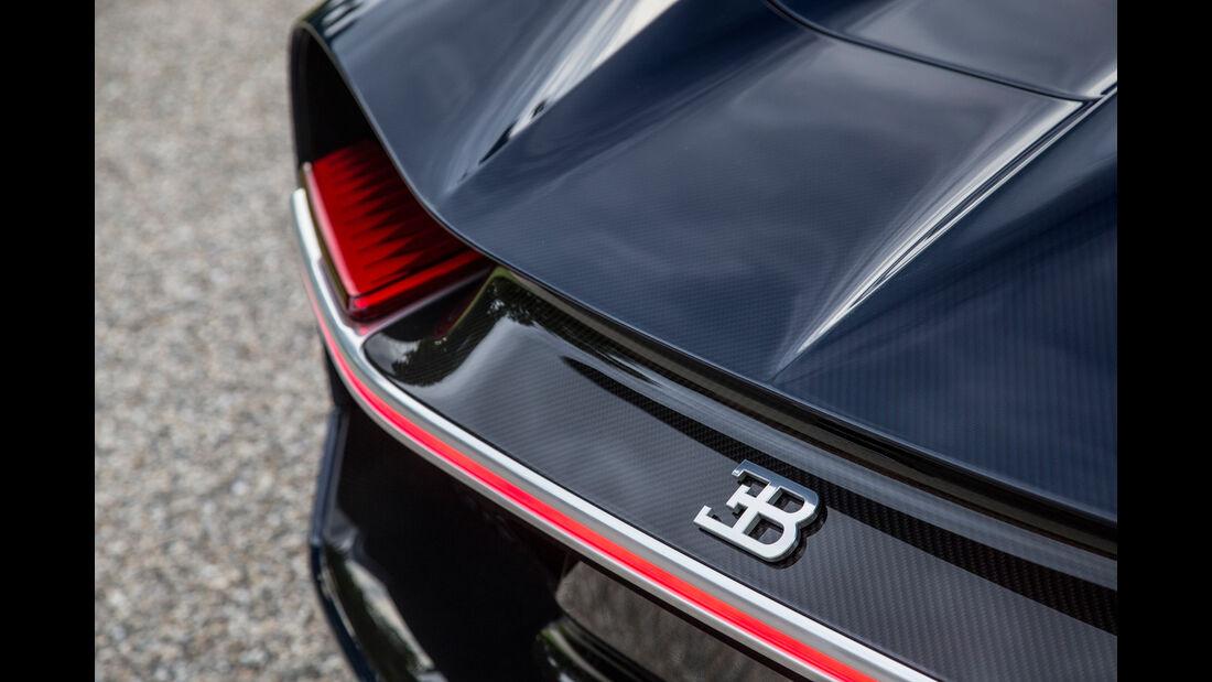 Bugatti Chiron, Heck