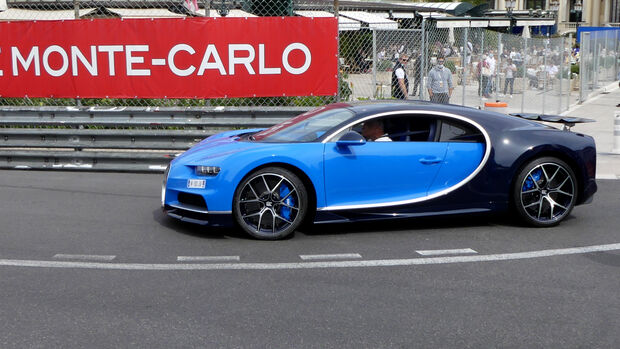 Bugatti Chiron - Luxusautos - Formel 1 - GP Monaco - 21. Mai 2021