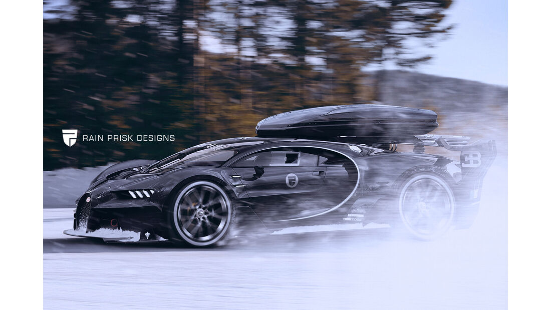 Bugatti Chiron Offroad - Fantasie-Auto
