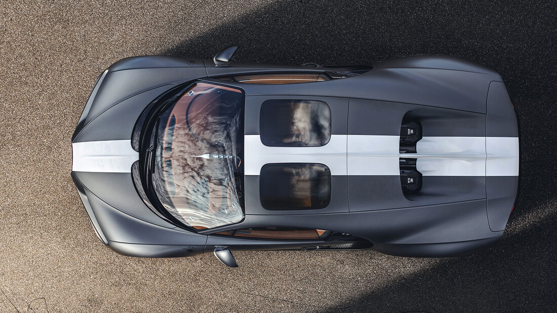 Bugatti Chiron Pur Sport Légends du ciel Sondermodell