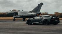Bugatti Chiron Sport Legendes du ciel Jet Dassault Rafale Marine