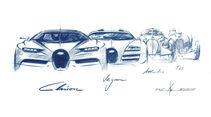 Bugatti Chiron, Studien