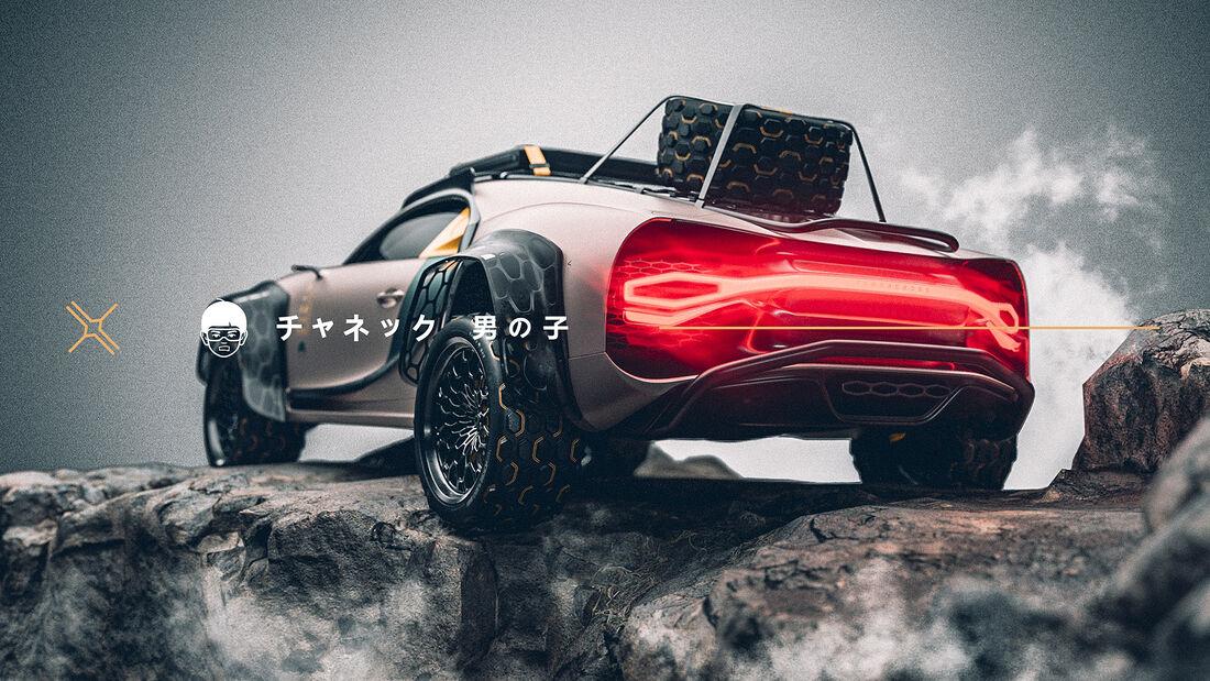 Bugatti Chiron Terracross