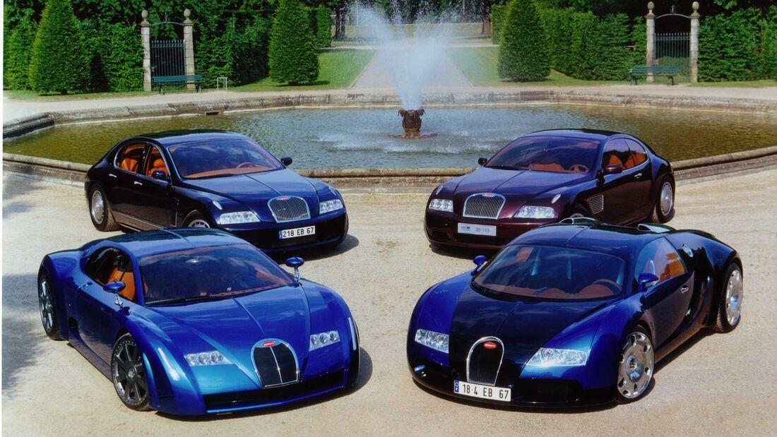 Bugatti Concept Cars 2000