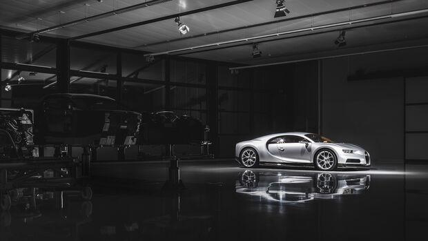 Bugatti Corona-Produktionsstopp