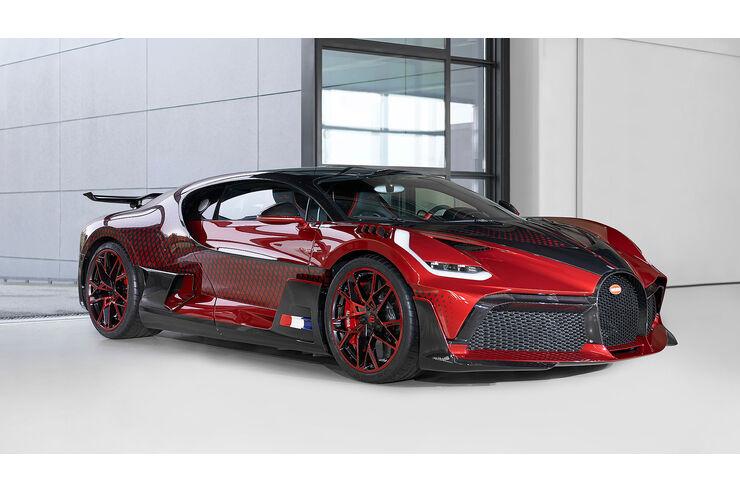 Bugatti Divo Lady Bug: Zwei Jahre für Sonder-Look | AUTO MOTOR UND SPORT - auto motor und sport