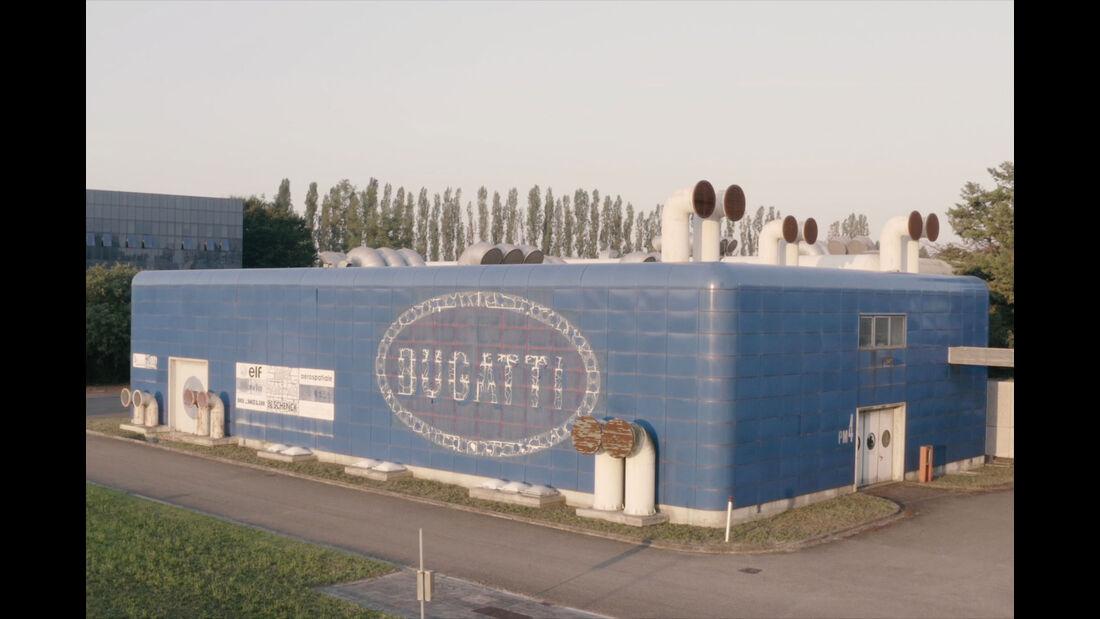 Bugatti EB-100-Werk Campogalliano