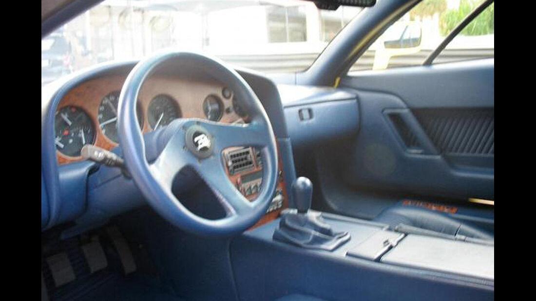 Bugatti EB 110 von Michael Schumacher Cockpit