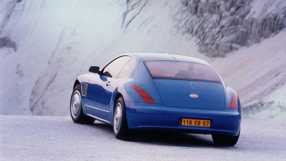 Bugatti EB 118 Studie 1998