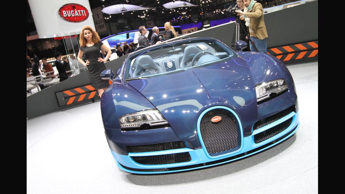 Bugatti Grand Sport Vitesse Auto-Salon Genf 2012