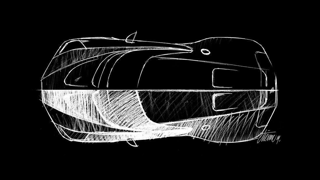 """Bugatti """"Le Voiture Noire"""""""