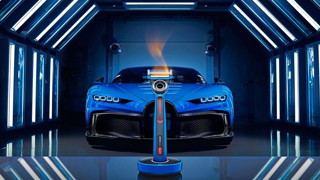 Bugatti-Rasierer von Gillette