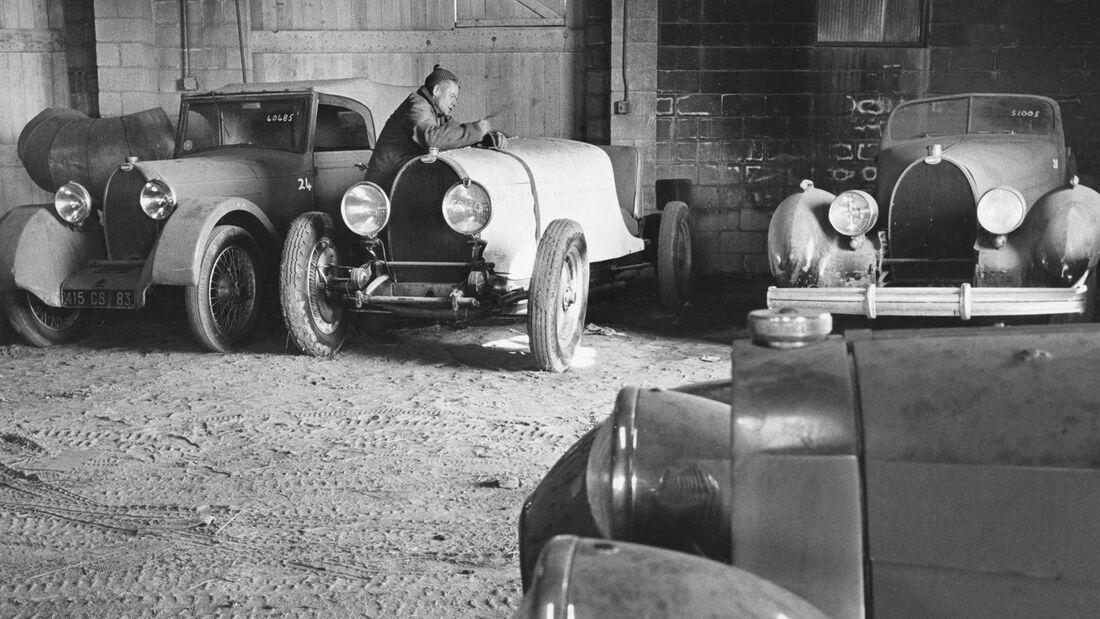 Bugatti Sammlung Schlumpf/Shakespeare