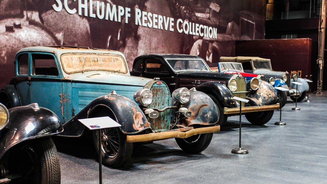 Bugatti Sammlung Schlumpf Shakespeare Collection