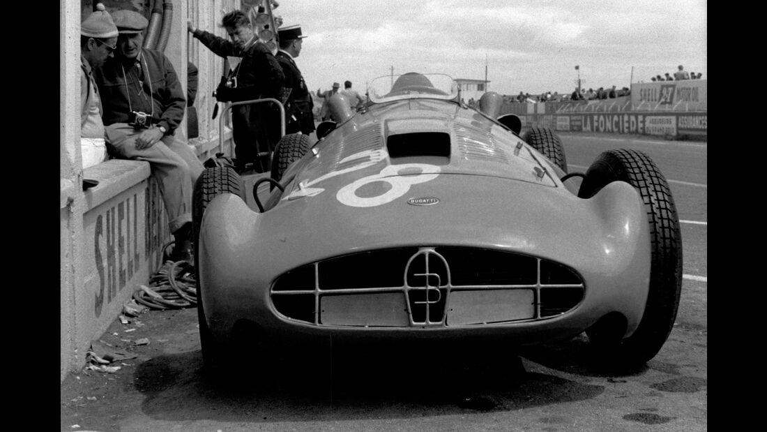 Bugatti T251 - Maurice Trintignant - GP Frankreich 1956 - Reims