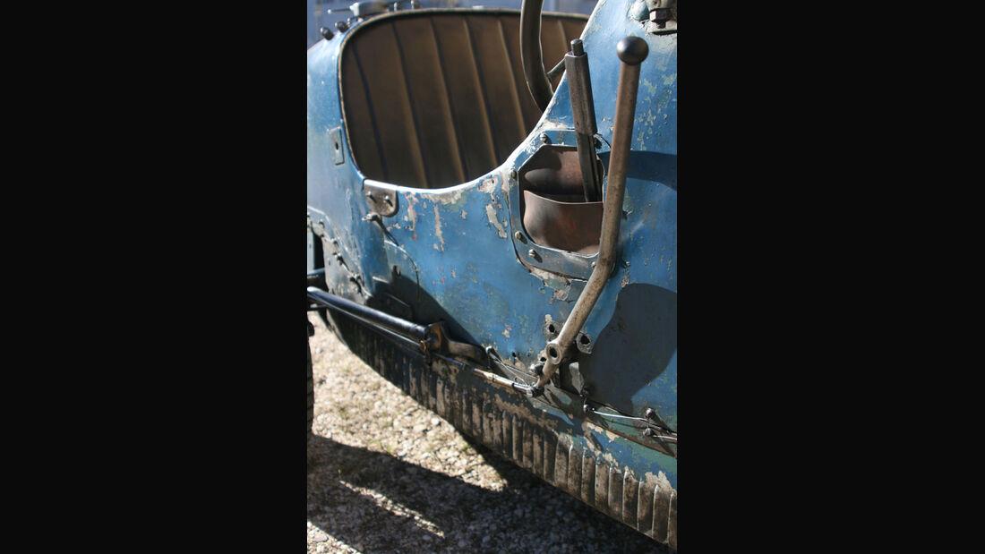 Bugatti T37, Rostlaube