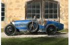 Bugatti T37, Seitenansicht