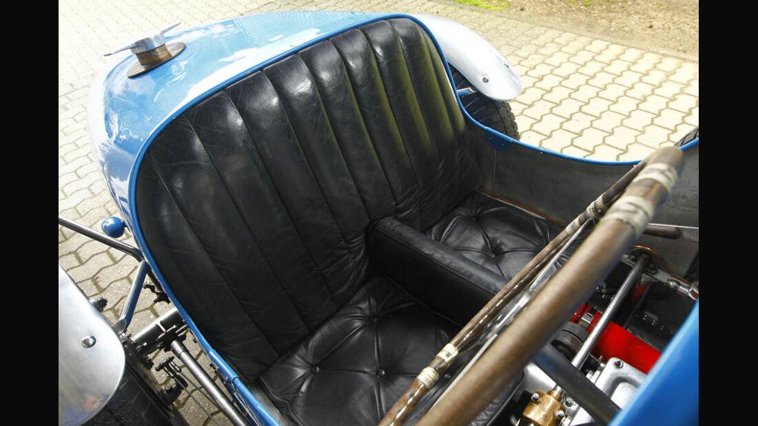 Bugatti Typ 35, Baujahr 1927, Cockpit
