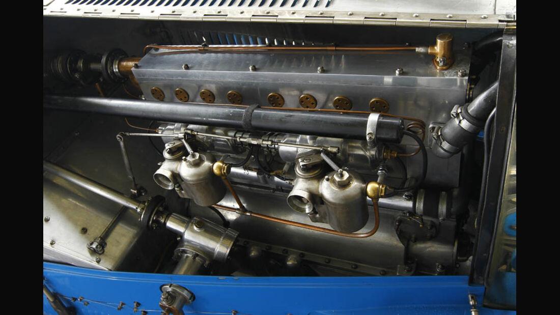 Bugatti Typ 35, Baujahr 1927, Kurbel