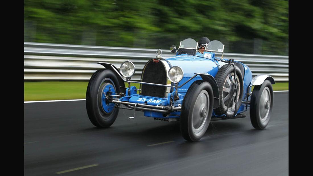 Bugatti Typ 35, Baujahr 1927, Nürburgring