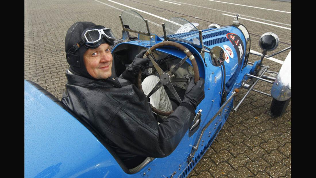 Bugatti Typ 35T, Baujahr 1927, Cockpit