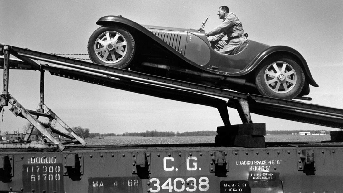 Bugatti Typ 55 (1932) Sammlung Schlumpf/Shakespeare