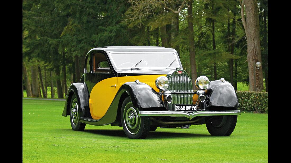 Bugatti Typ 57 Ventoux, Frontansicht