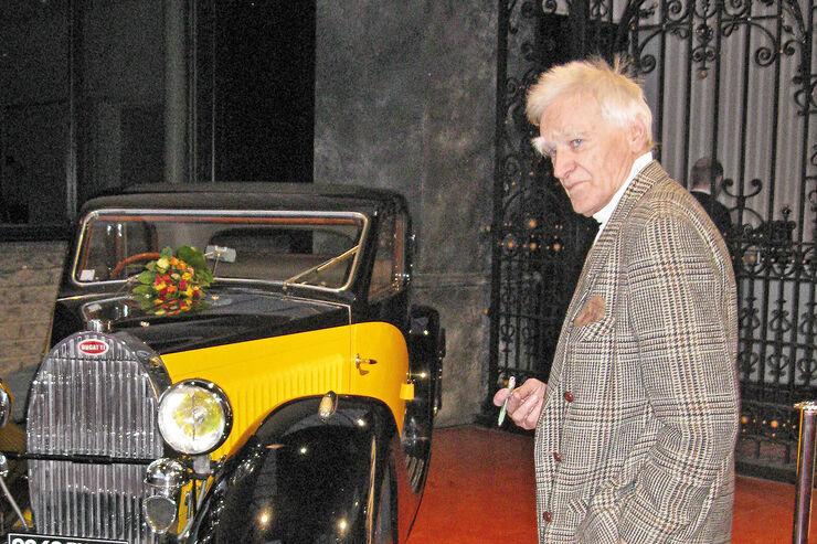 Bugatti Typ 57 Ventoux, Frontansicht, Michel Dovaz