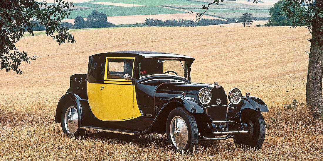 Bugatti Type 44, Frontansicht