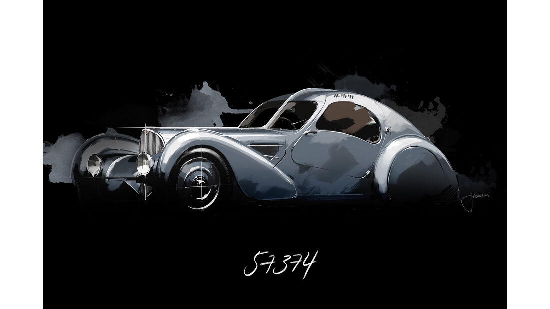 Bugatti Type 57 SC Atlanic