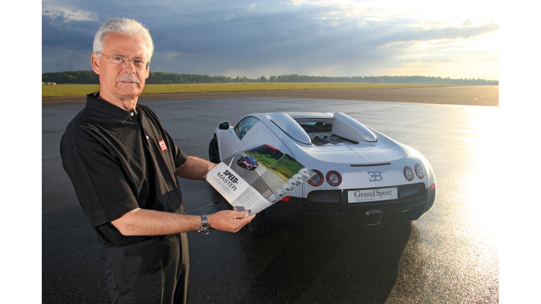Bugatti Veyron 16.4, Bernd Ostmann, Porträt