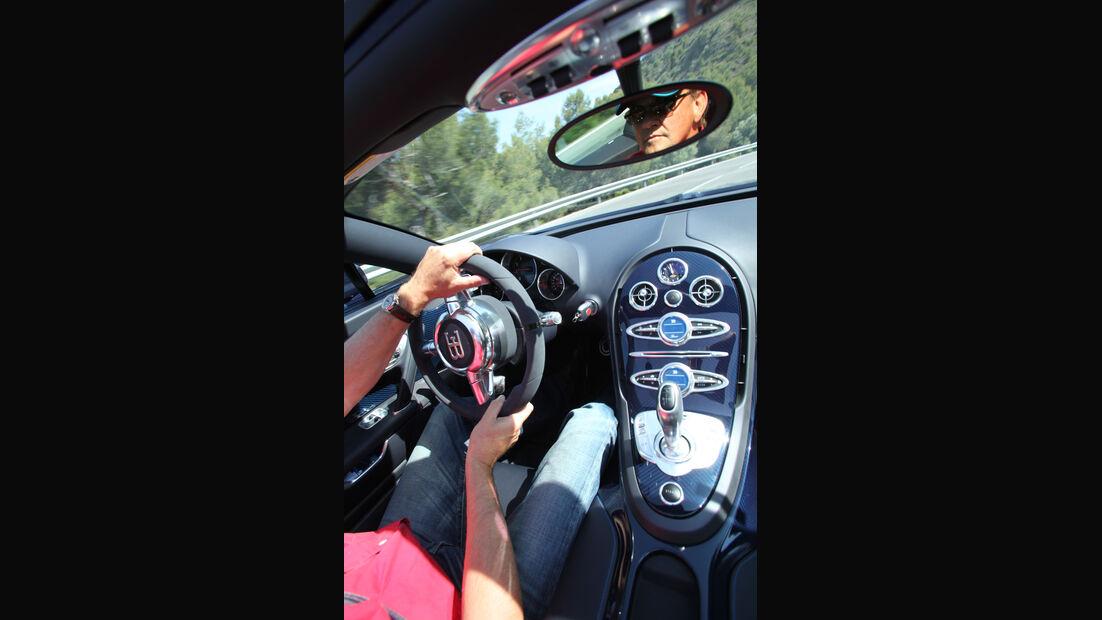 Bugatti Veyron 16.4 Grand Sport Vitesse, Cockpit