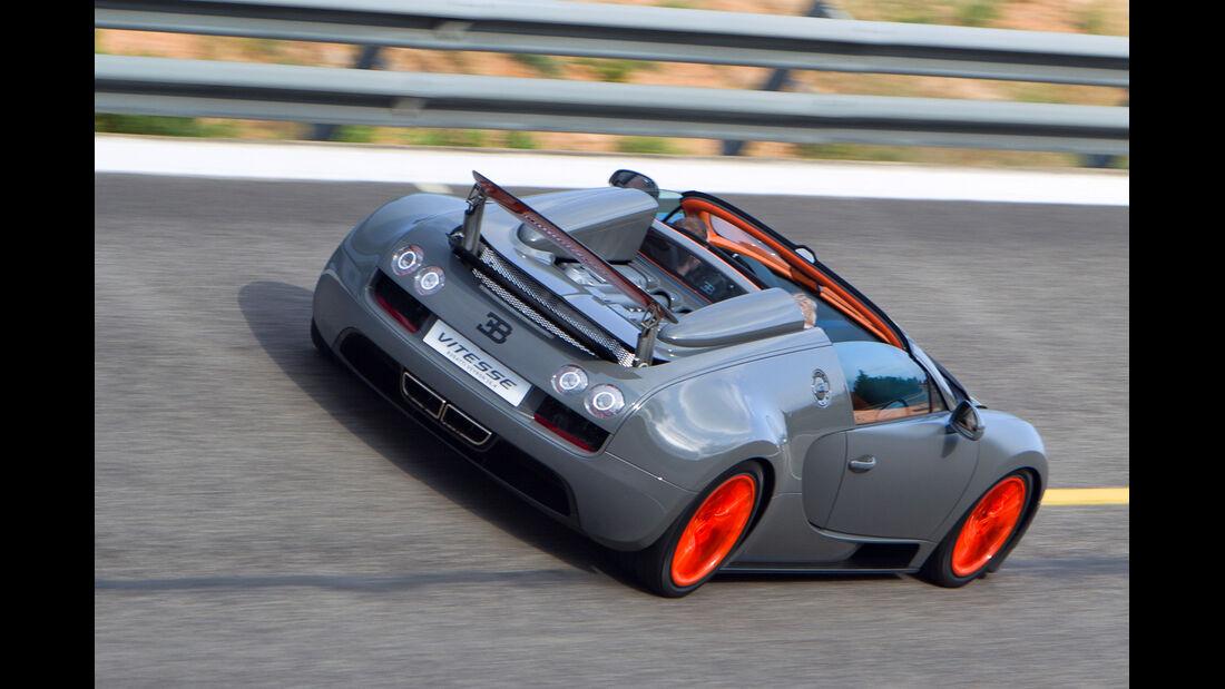 Bugatti Veyron 16.4 Grand Sport Vitesse, Heckansicht
