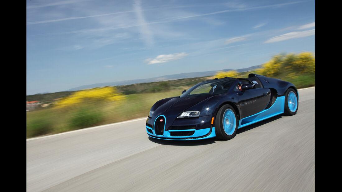 Bugatti Veyron 16.4 Grand Sport Vitesse, Seitenansicht