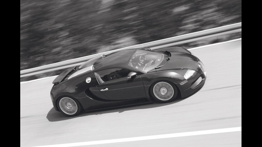 Bugatti Veyron 16.4, Seitenansicht