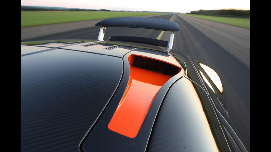 Bugatti Veyron 16.4 Super Sport, Dach, Luftschlitz