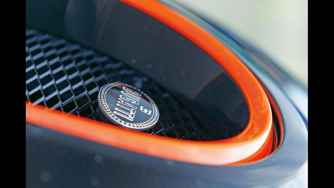 Bugatti Veyron 16.4 Super Sport, Detail, Kühlergrill