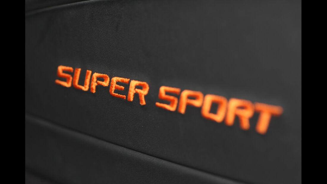 Bugatti Veyron 16.4 Super Sport, Emblem