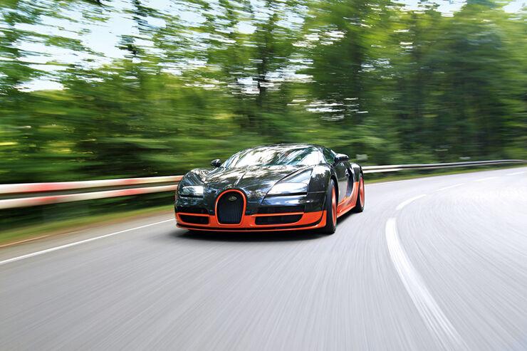 Bugatti Veyron 16.4 Super Sport, Front