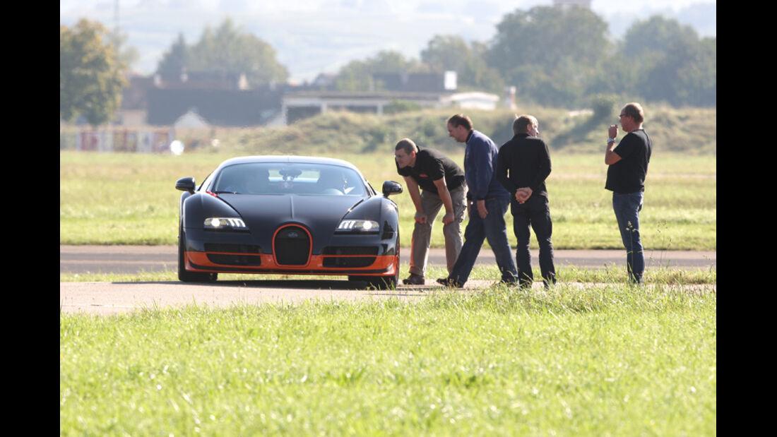 Bugatti Veyron 16.4 Super Sport, Frontansicht