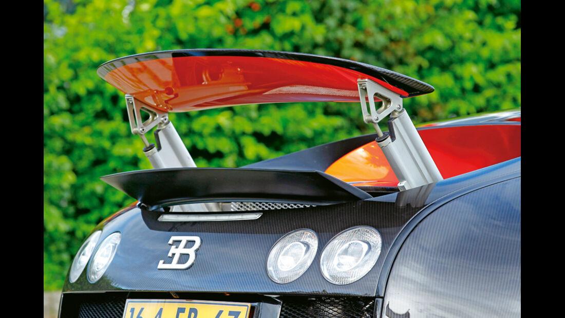 Bugatti Veyron 16.4 Super Sport, Heckspoiler