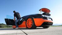 Bugatti Veyron 16.4 Super Sport, Heckspoiler, Seitentür