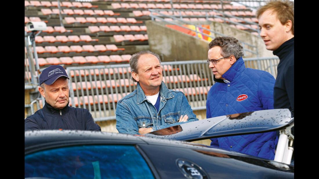 Bugatti Veyron 16.4 Super Sport, Heckspoiler, Team