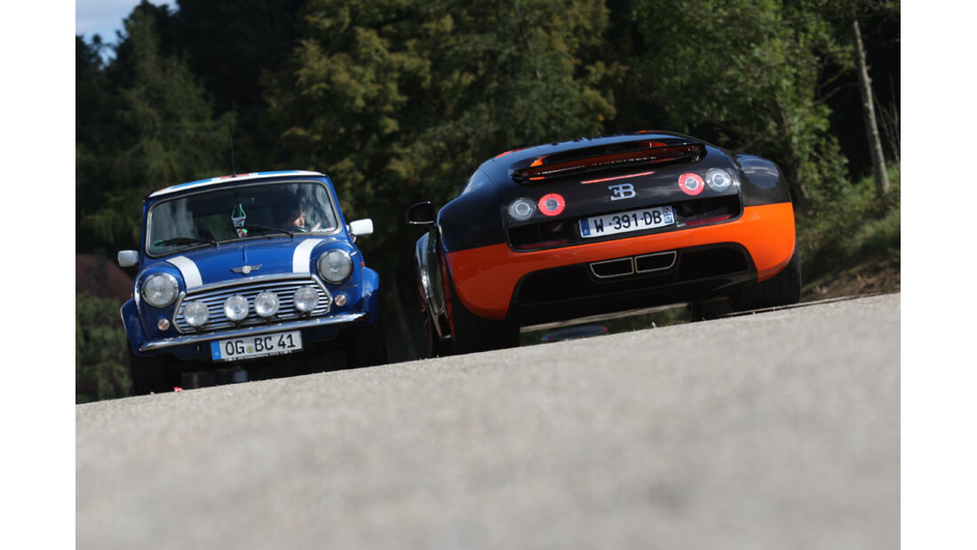Bugatti Veyron 16.4 Super Sport, Mini