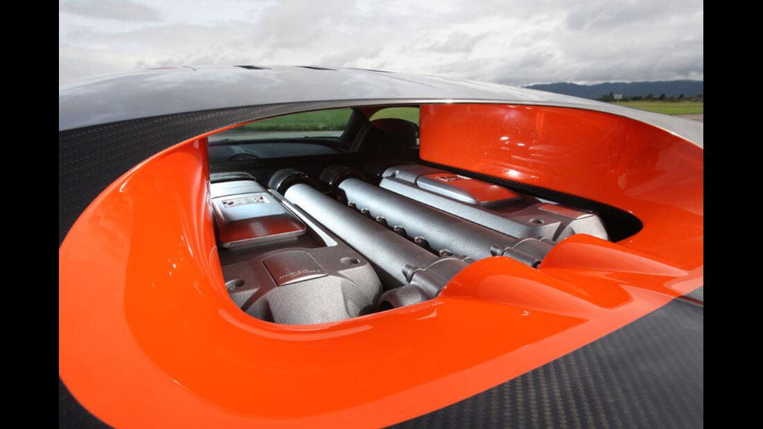 Bugatti Veyron 16.4 Super Sport, Motor