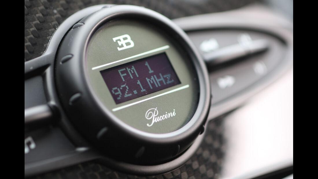 Bugatti Veyron 16.4 Super Sport, Radio