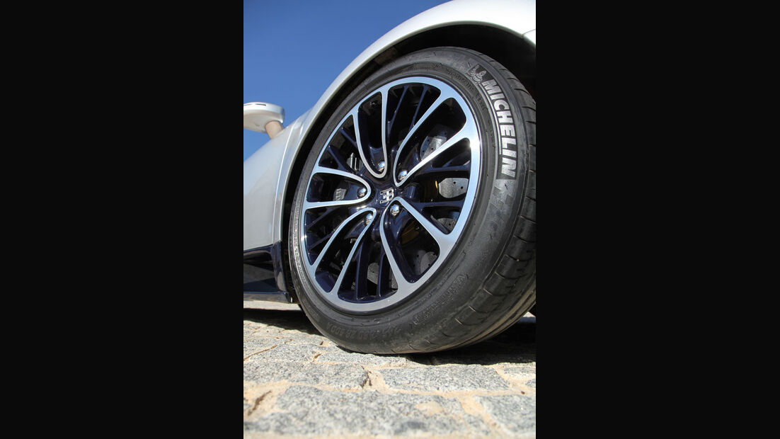 Bugatti Veyron 16.4 Super Sport, Reifen